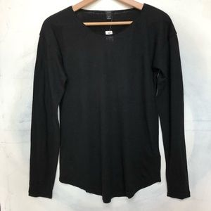 J. Crew Black Long Sleeve Basic Shirt NWT